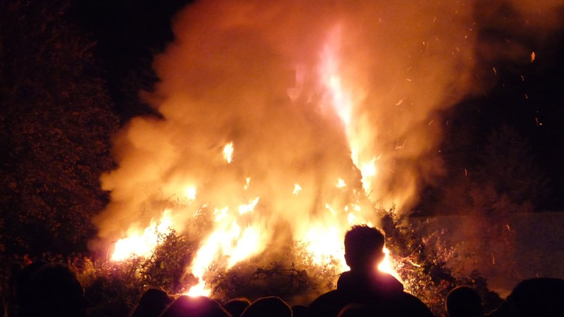 From the beach to bonfire night!