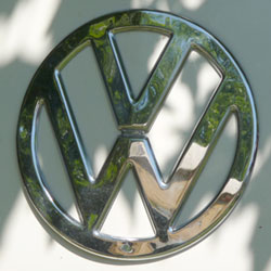 VW Campervan badge