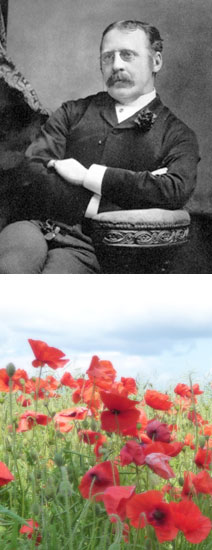 Clement Scott and Norfolk poppies