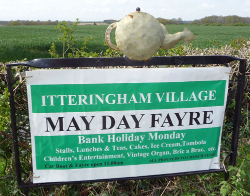 Itteringham Village May Day Fayre 2012, north Norfolk