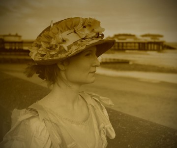 Victorian character at Cromer pier
