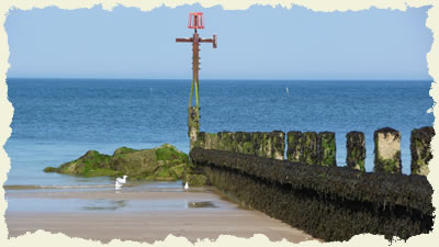 Sheringham beach, north Norfolk